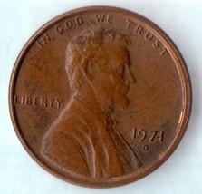 1971 D Lincoln Memorial Cent - Light Wear Very Desirable  - $2.28