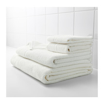 NEW FRAJEN 100 % Cotton Towels Assorted Sizes White Color - $9.00+