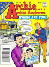 Archie…Archie Andrews, Where Are You? Digest Magazine #106 VF/NM; Archie | save - $6.99