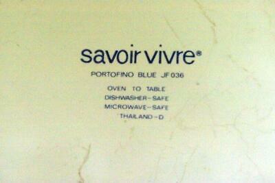 Savoir Vivre Portofino Blue Salad Gravy Boat