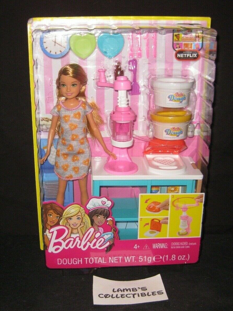 Primary image for Barbie Sisters Stacie Breakfast Playset Mattel action figure doll