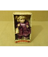Collector's Choice Musical Doll 10in H x 5in W x 4in D 937313-MMV Porcelain - $20.43