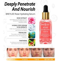 Hyaluronic Acid Rose Serum Nourishing Vitamin C Retinol Firming Repair S... - $18.99