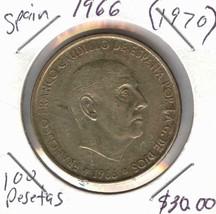 1966(1970) SPAIN 100 PESETAS - $29.70