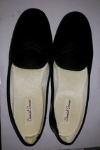 Daniel Green Meg Black Slippers 9.5 medium  NIB 40125-710 slippers style... - $14.84