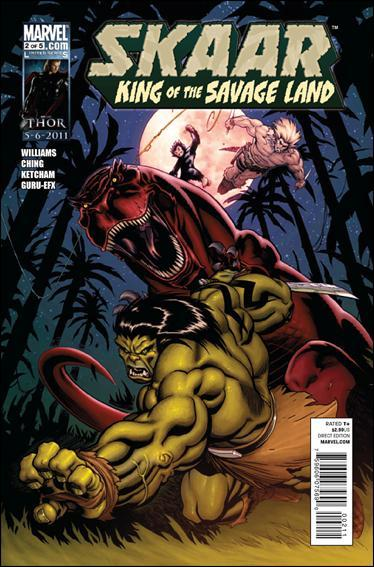 Marvel SKAAR: KING OF THE SAVAGE LAND #2 VF