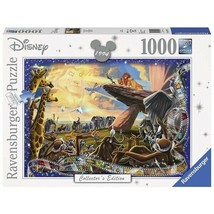Ravensburger Disney Collector's Edition Lion King 1000 Piece Jigsaw Puzzle - $48.48