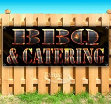 BBQ AND CATERING Advertising Vinyl Banner Flag Sign Many Sizes USA - $11.39+