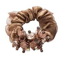 Hair Headwear 2 Pieces Elegant Ponytail Holders Hair Rope Hair Circle