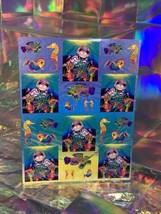 SALE⚡️S278  Lisa Frank Skeeter The Seal Rainbow Reef Sticker Sheet Full image 1