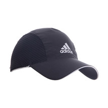 NEW Men Women Adidas Cap Running Climacool  Black Reflective hat osfw - $36.80
