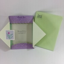 Thank You Greeting Card & green Envelope By Paper Magic Group, NEW IN PA... - $1.97