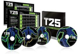 Beachbody T25 Gamma Shaun T's Focus Workout on 4 DVD,Fitness Exercise - $40.98