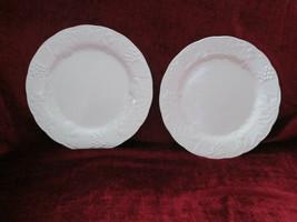 Nikko Woodbury White set of 2 dinner plates - $26.68