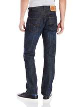 Levi's Men's Original Fit Straight Leg Jeans Button Fly Tidal Blue 501-0422 image 2