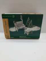 Dept 56 DEPARTMENT 56 Department 56 North Pole Woods Birch Bench and Tab... - $16.12