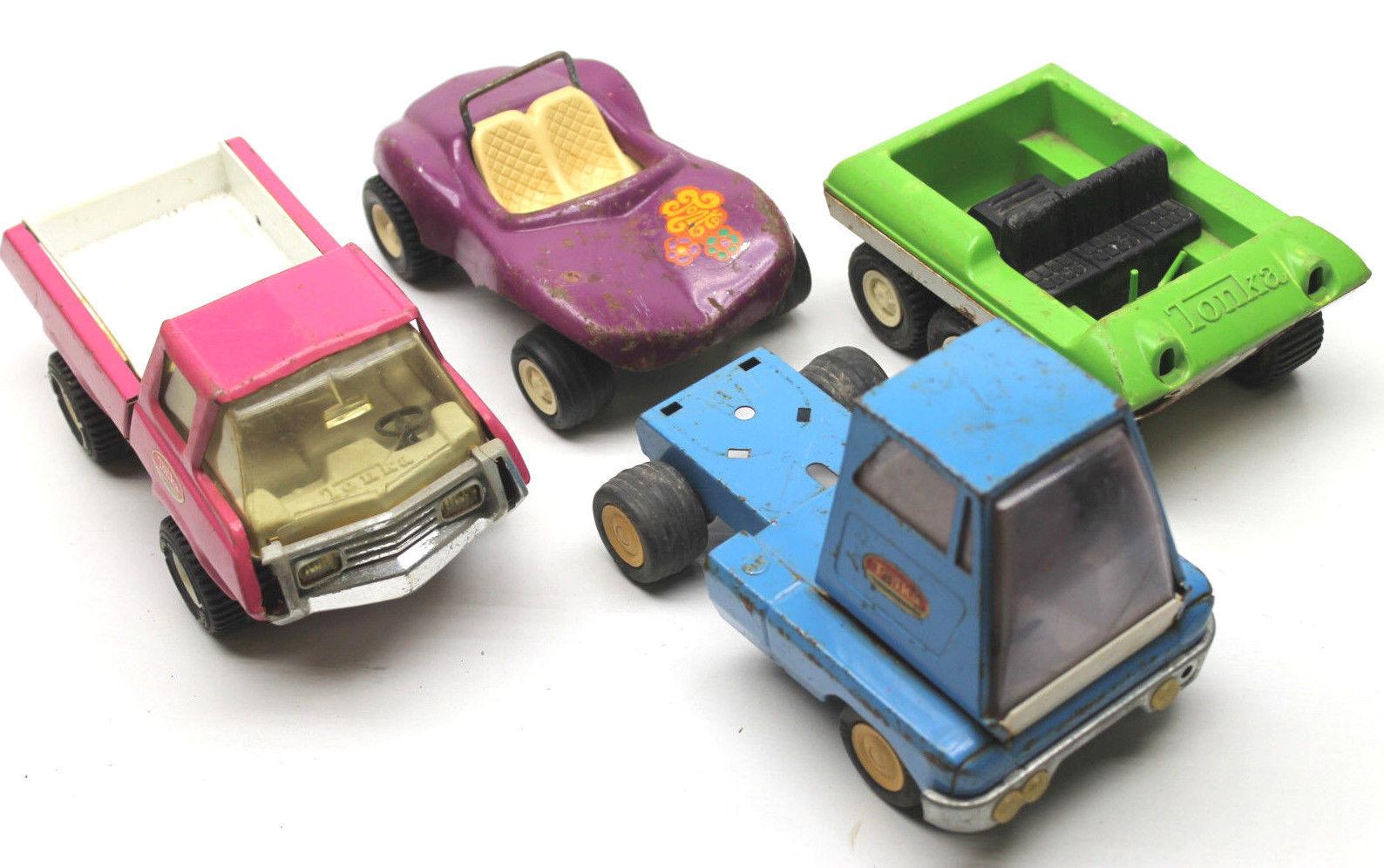 Image result for metal tonka trucks 1970's