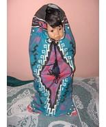Native American Doll NAVAJO PAPOOSE Nancy Leslie Box - $79.19
