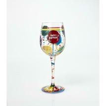 """Aged to Perfection """"Designs by Lolita"""" Wine Glass 15 o.z. 9"""" High  Gift Boxed image 2"""