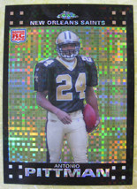 2007 Topps Chrome Antonio Pittman Rc Xfractor Rookie - $1.50