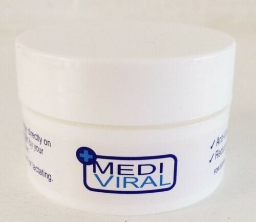 MediViral Breakthrough Herpes Topical Cream Treatment Cold Sores Cure