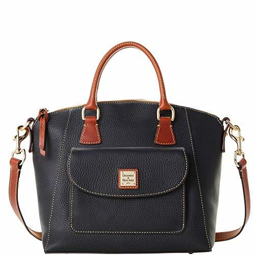 Dooney & Bourke Brie Pebble Satchel Black