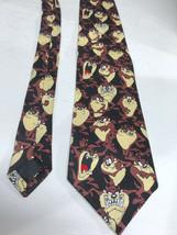 Taz Looney Tunes Mens Tie Necktie Tazmanian Devil  - $11.91