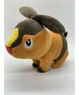 "Jakks Pacific Plush Tepig Pokemon Stuffed Animal Fire Pig 6"" Brown Toy - $13.00"
