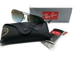 Occhiali da Sole Ray-Ban Rb3603 002/T0 56 14 140 2n Nero Verde Gradienti - $107.17