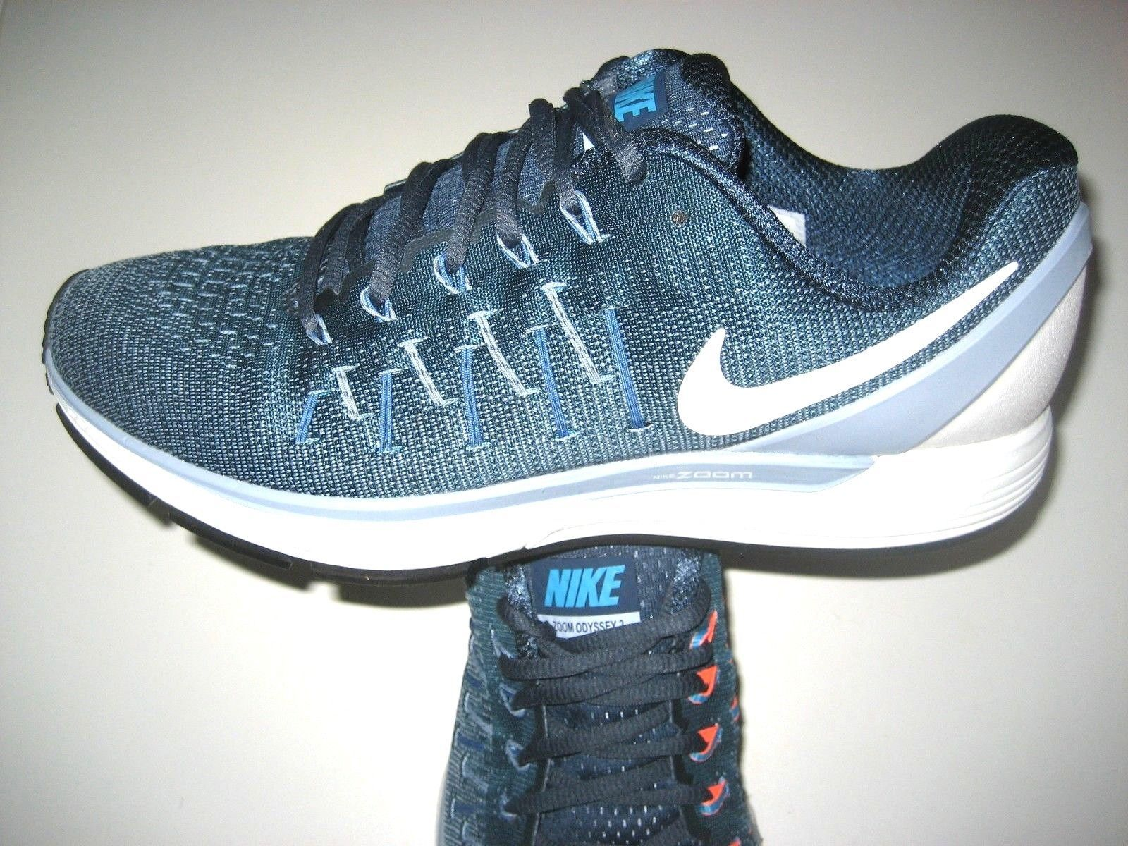 e9c5e38d5c4d6 Nike Mens Air Zoom Odyssey 2 Running Shoes Size 9 Squadron Blue 844545 400  New