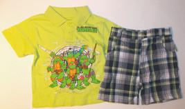Teenage Mutant Ninja Turtles Infant Boys 2pc Shirt & Shorts Set Size 24M... - $10.08