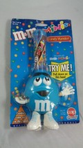 Blue M&M Mini's Candy Holder Mars Inc. Collectible CHOCOLATE - $10.00
