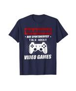 Dad Shirts - Video Games Warning May Spontaneously Talk About Gaming Tee... - $19.95+