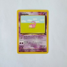 Pokemon Fossil Slowpoke NM 55/62 TCG Trading Card Game 1999 Unlimited - $1.24