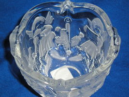 Vintage~Mikasa~Cherub Crystal Votive Candle Holder-Christmas~Holiday Lights - $8.99
