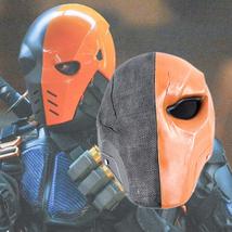 Deathstroke Mask Helmet Halloween Cosplay Season PVC - $64.35 CAD