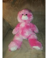"""The Bear Factory Pink Teddy Plush 16"""" Stuffed Animal Back Opens Up 2001 ... - $22.76"""
