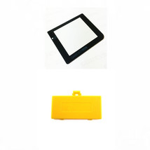 New YELLOW Nintendo Game Boy Pocket GBP Battery Cover + GLASS Screen Lens - $6.88