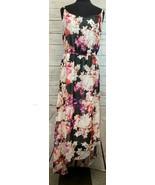 Lane Bryant Floral Printed Pattern Sleeveless Maxi Dress Size 26/28 Casual - $33.33