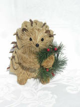 Pier 1 Imports Bristle Straw Christmas Holiday Home Décor Porcupine/Hedg... - $24.99