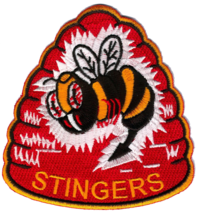 US Navy Official VA-113 Stingers Patch & Sticker - $19.79