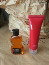 TABU BODY LOTION 1 OZ (MINI)~ VIOLIN COLOGNE .5 OZ (MINI)~ BY DANA - $24.99