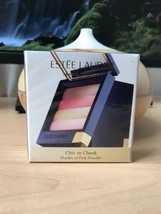 Limited Edition NIB Estee Lauder Chic to Cheek Shades of Pink Powder - $53.45