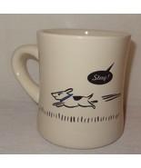 Bad Dog Stay Coffee Mug Cup 10 oz Puppy M Ware China Stoneware Original ... - $14.99