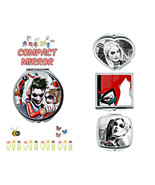 Harley Quinn makeup mirror compact mirror purse mirror travel mirror - $11.99