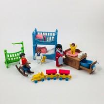 Playmobil Victorian Mansion Vintage Kids Bedroom Nursery Play Room Lot 5311 - $27.16
