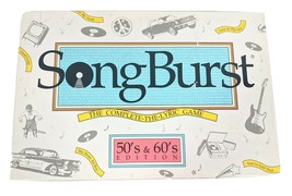 Song Burst The Complete-The-Lyric Game 50's & 60's Edition (1990) New Op... - $26.96