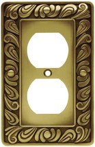 Franklin Brass 64045 Paisley Single Duplex Outlet Wall Plate / Switch Pl... - $13.21