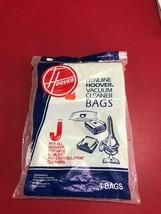 Genuine Hoover Type J Vacuum Cleaner Bags Style 4010010J OEM Slimline Va... - $6.92
