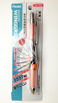 Pentel ERGoNoMiX Wing Grip 0.5mm Clear Orange Mechanical Ergonomics Pencil - $225.72
